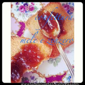 confettura mele e zenzero